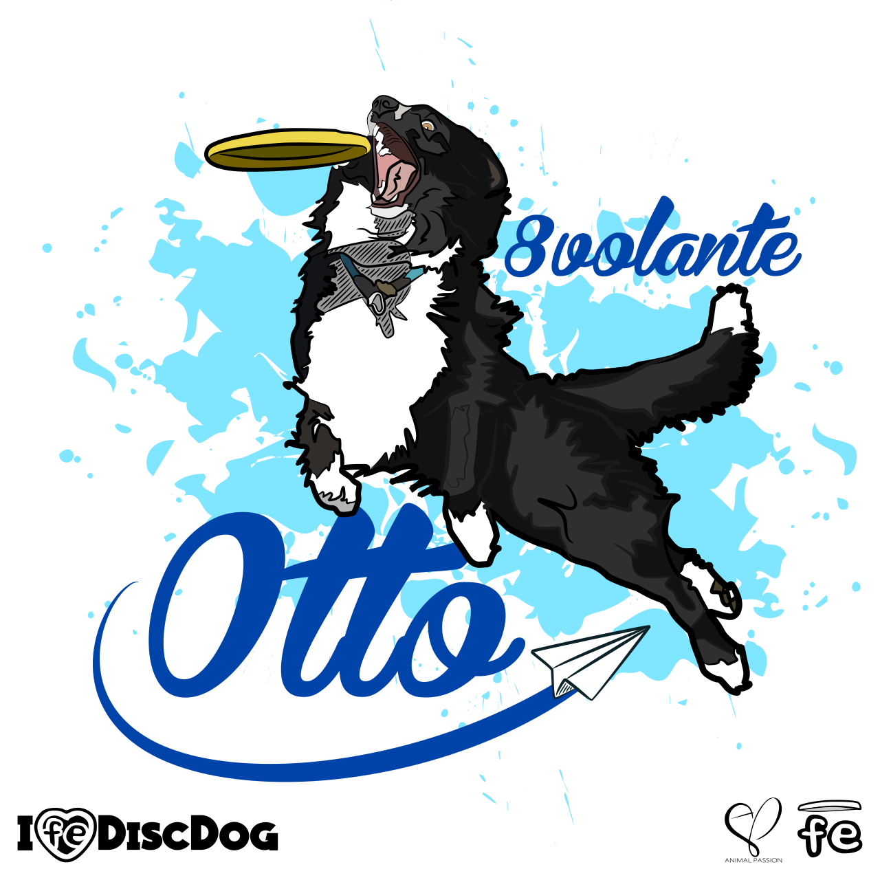 1280x1280 Otto , Border Collie Lt With Fe, The Protagonist Are You All Right