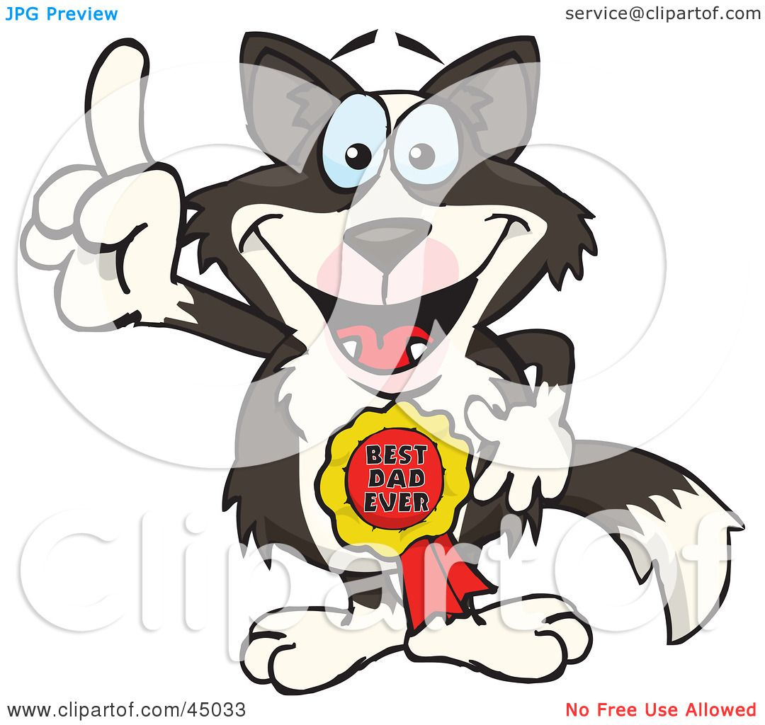 1080x1024 Royalty Free (Rf) Clipart Illustration Of A Border Collie