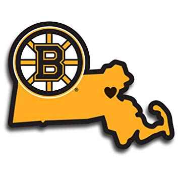 355x355 Nhl Boston Bruins Home State Decal Sports Amp Outdoors