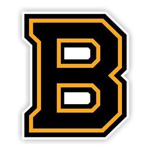300x300 Boston Bruins B Decal Sticker Die Cut Ebay