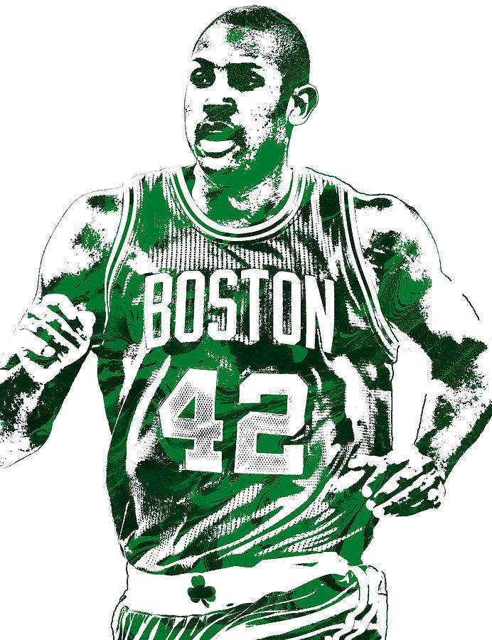692x900 Al Horford Boston Celtics Pixel Art Mixed Media By Joe Hamilton