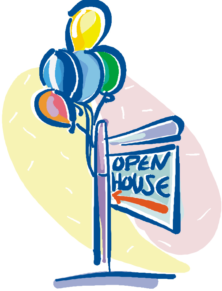 750x986 Open House Clip Art Clipart 2