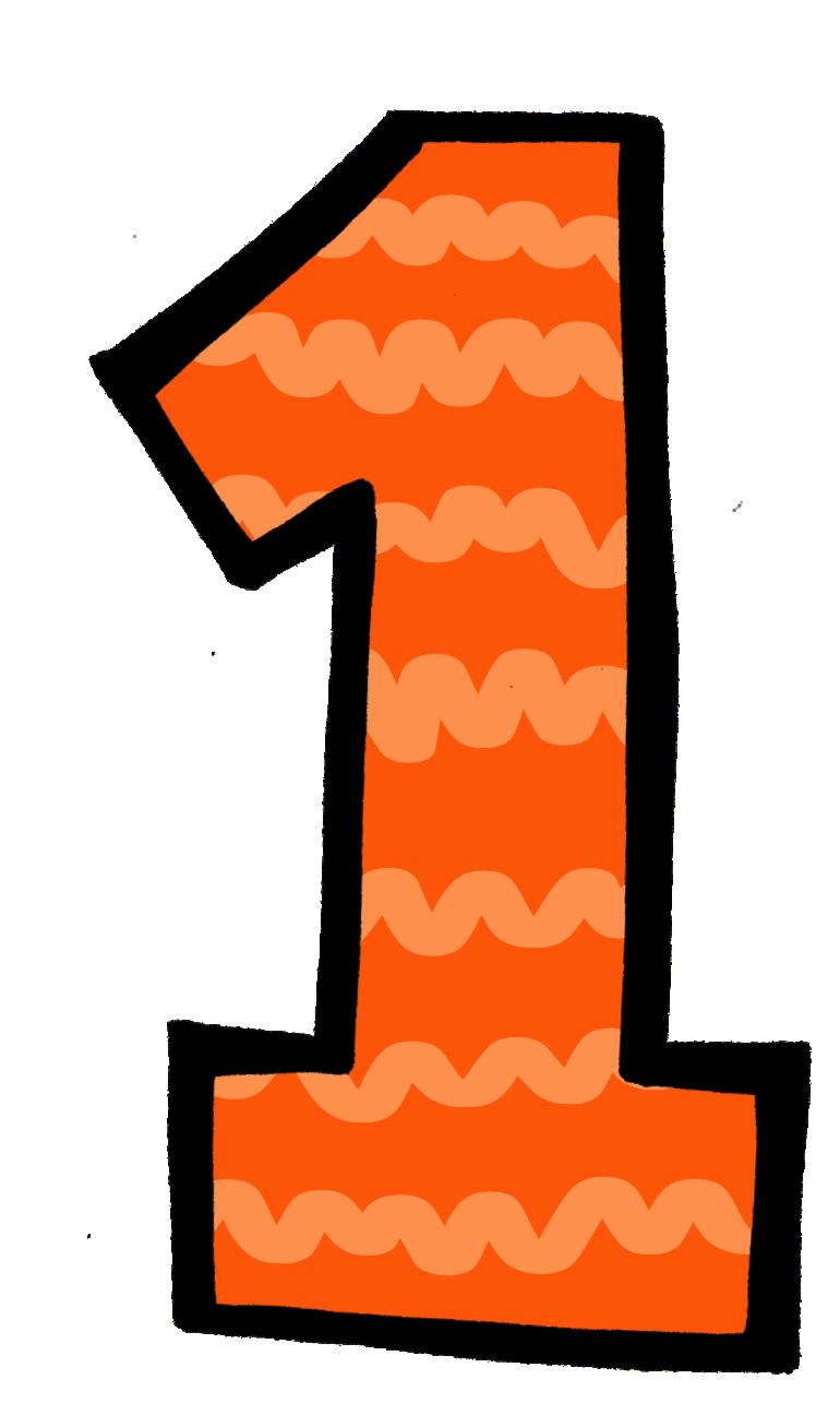770x1307 Orange Clipart Number 1