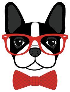 236x310 Boston Terrier Boston Terrier Vector Illustration