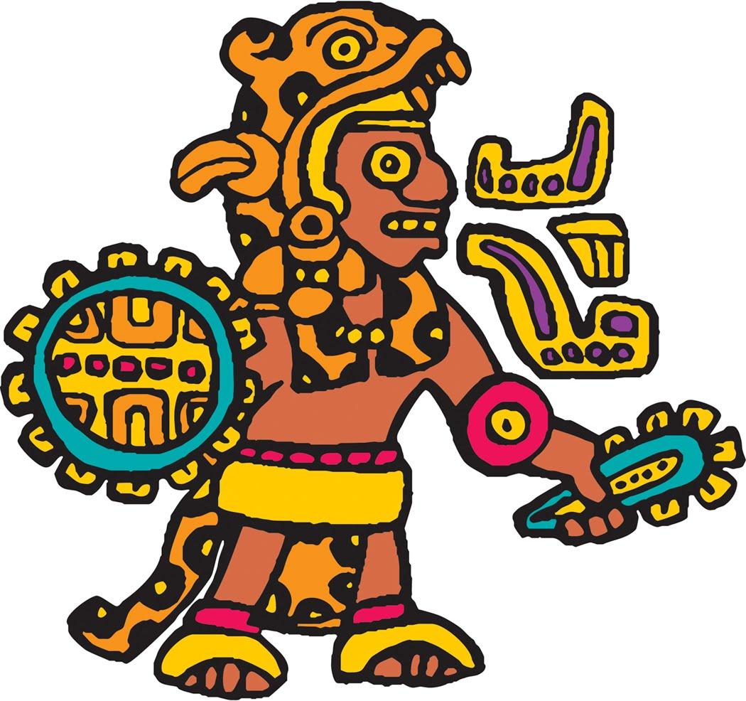 1050x986 Aztec Clipart Vector Clip Art