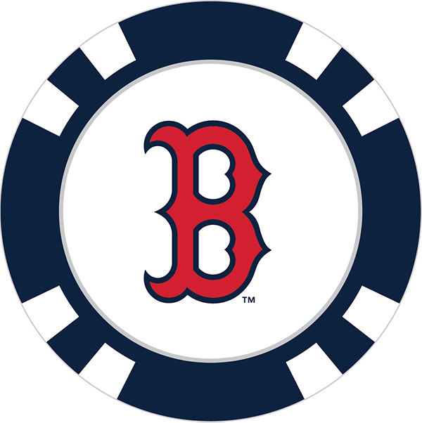 600x602 Boston Red Sox Poker Chip Ball Marker
