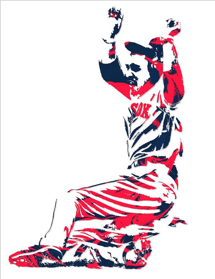 692x900 Mookie Betts Boston Red Sox Pixel Art 1 Mixed Media By Joe Hamilton