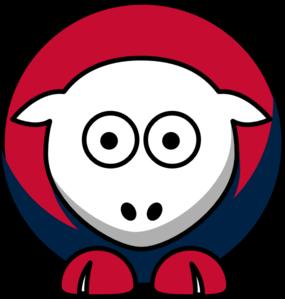 285x299 Sheep Boston Red Sox Team Colors Clip Art