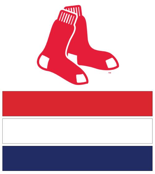 500x564 Boston Red Sox Baseball Nail Art Ideas Amp Designs Spirit Wear