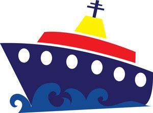 300x223 Clipart Of A Cruise Ship