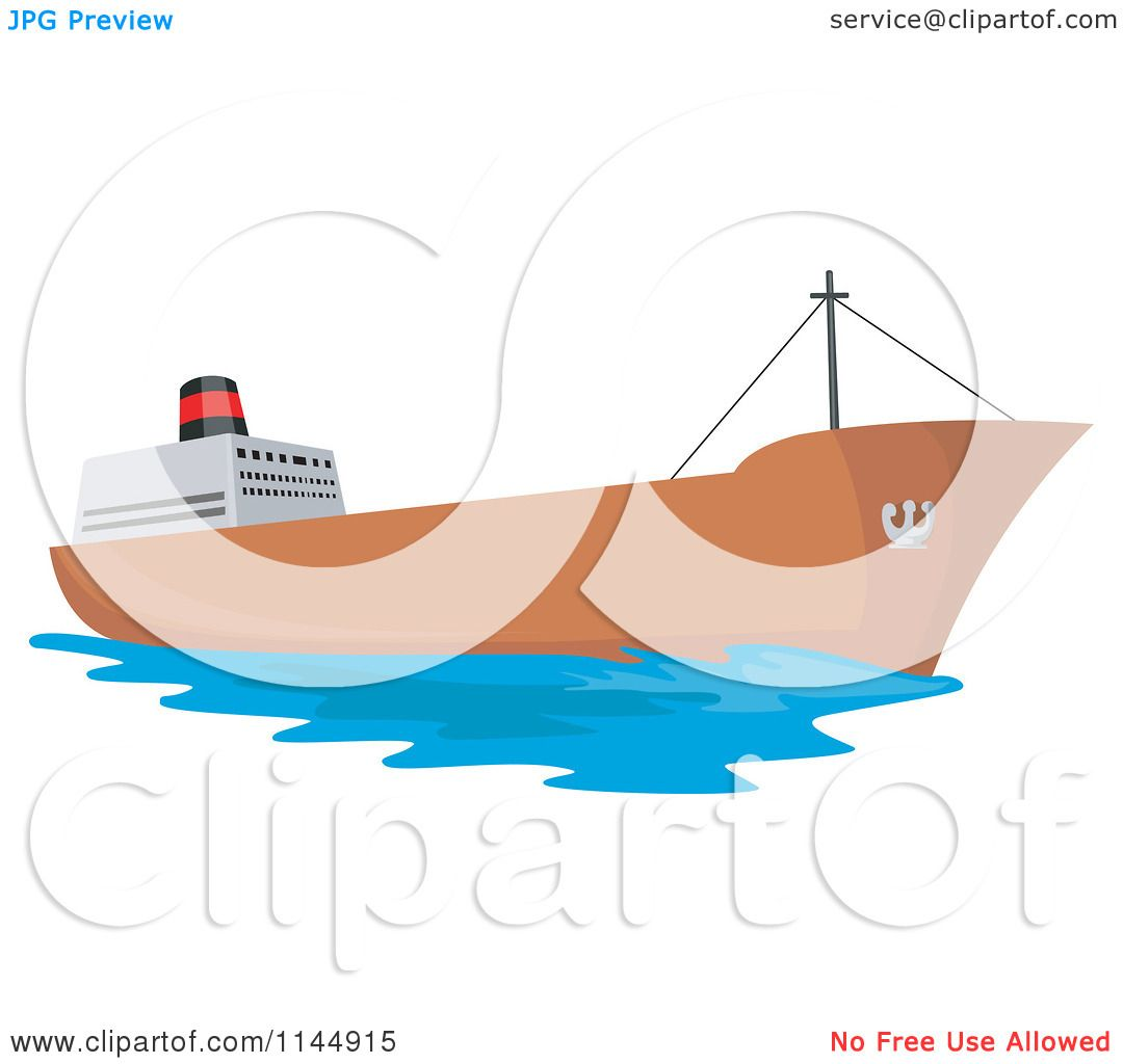 1080x1024 Clipart Of A Tanker Ship