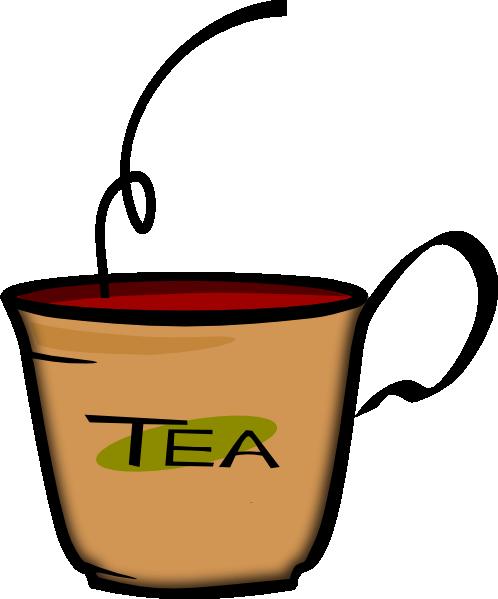 498x599 Tea Clipart Cartoon