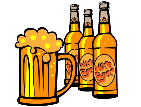 600x455 Free Beer Bottle Vector Clip Art 123freevectors