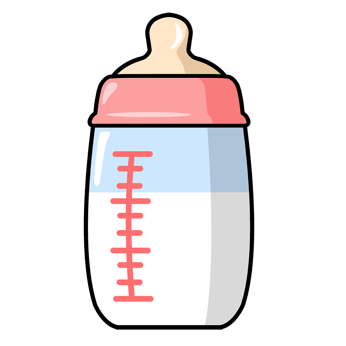 1200x1200 Free To Use Amp Public Domain Baby Bottle Clip Art