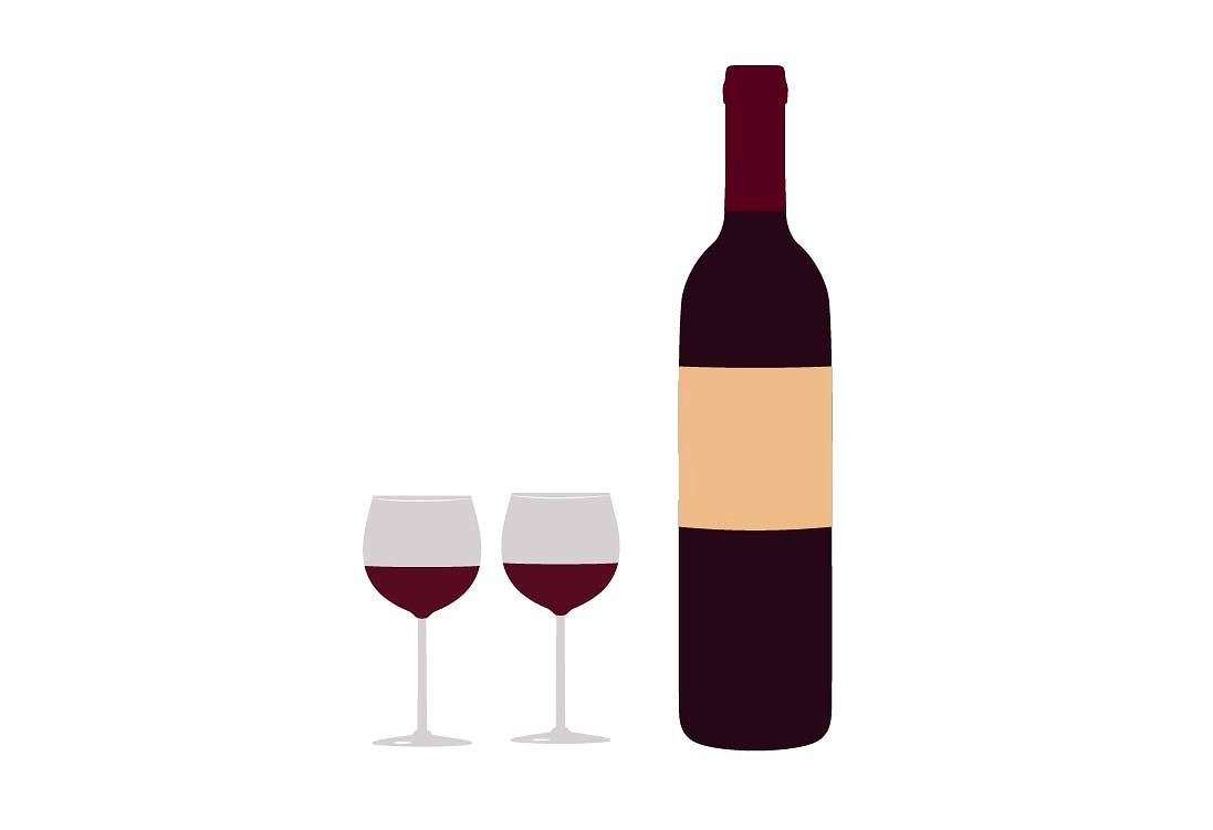 1097x751 Nice Ideas Wine Clipart Bottle And Glass Clip Art Net Related