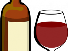 220x165 Wine Bottle Clipart Glass Of Wine With Wine Bottle Clip Art