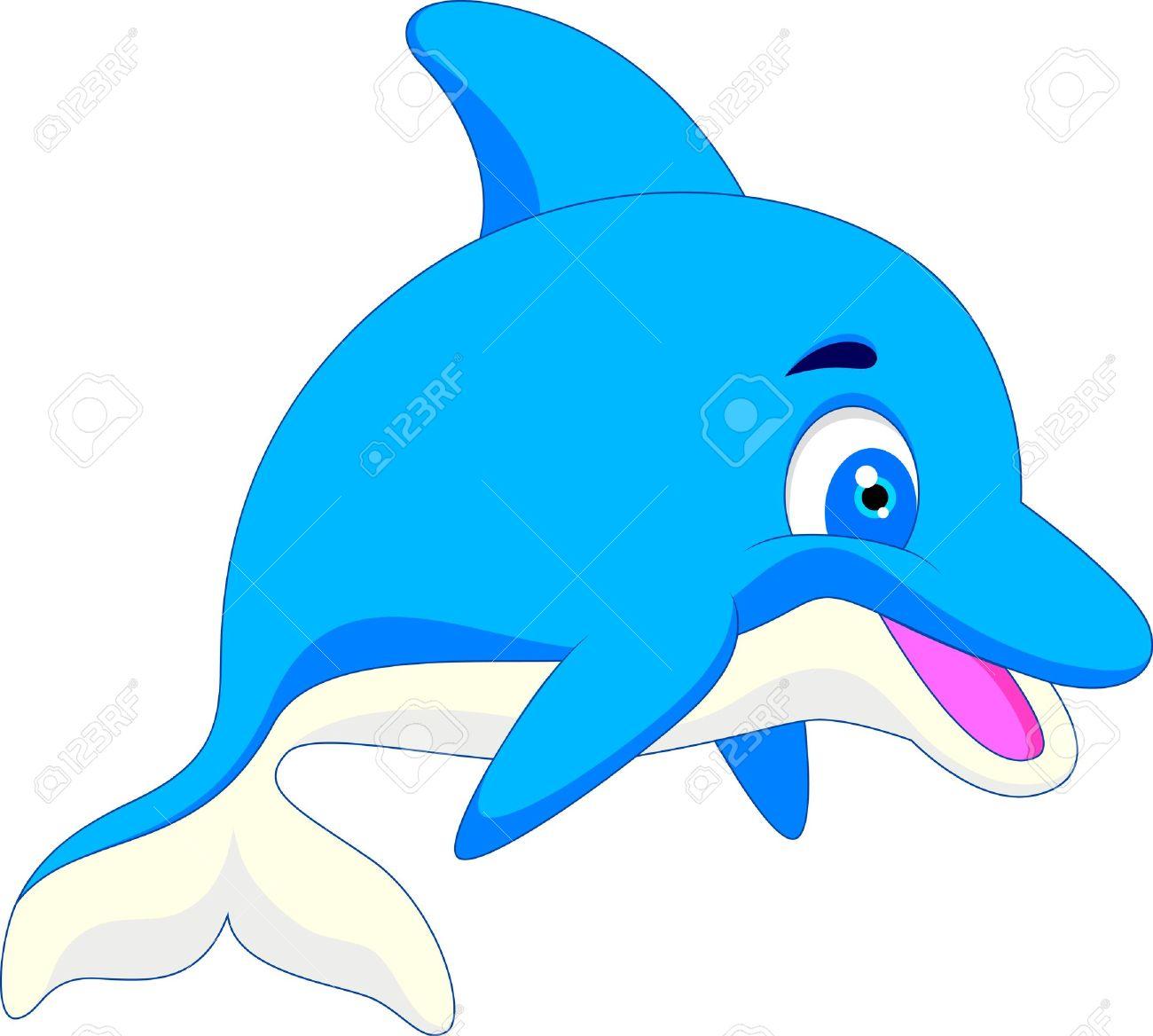 1300x1168 Dolphin Clipart Comic 3233196