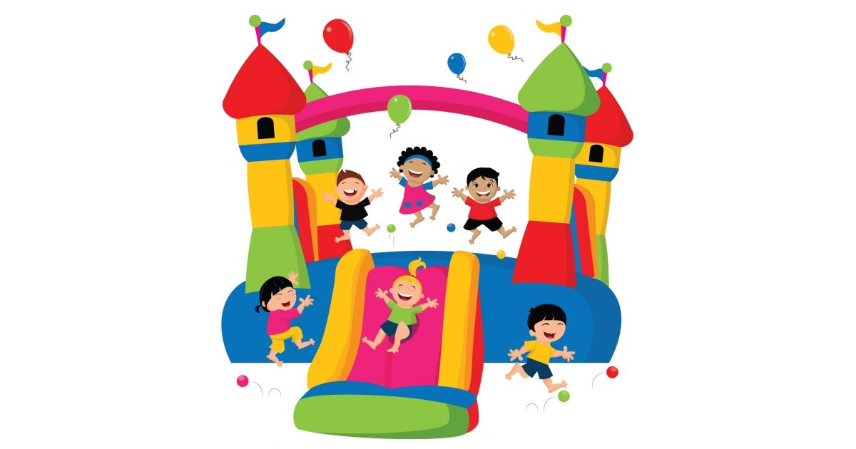 Image result for bounce house clipart