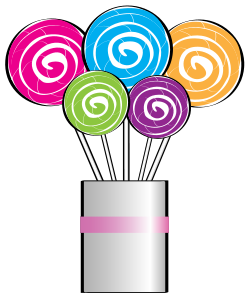 249x300 Cool Lollipop Clipart Bouquet