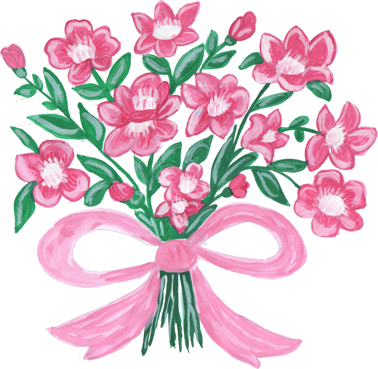 Bouquet Clipart At Getdrawings Free For Personal Use Bouquet