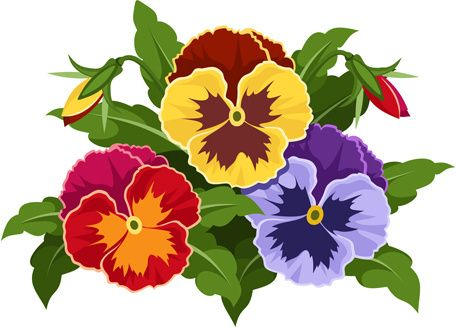 456x327 Free Flower Bouquet Clipart