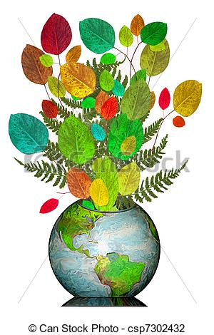 300x470 Happy Earthday Globe Bouquet. A Globe Of The Earth As A Vase Full