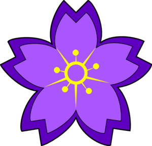 300x288 Purple Flower Clip Art Amp Look At Purple Flower Clip Art Clip Art