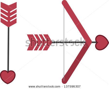 450x367 Cupid Bow And Arrow Clipart