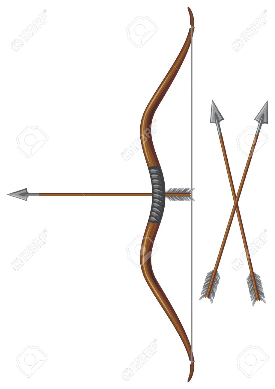 917x1300 Arrow Clipart Medieval