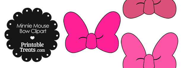 610x229 Minnie Mouse Bow Clip Art Free Clipart Collection