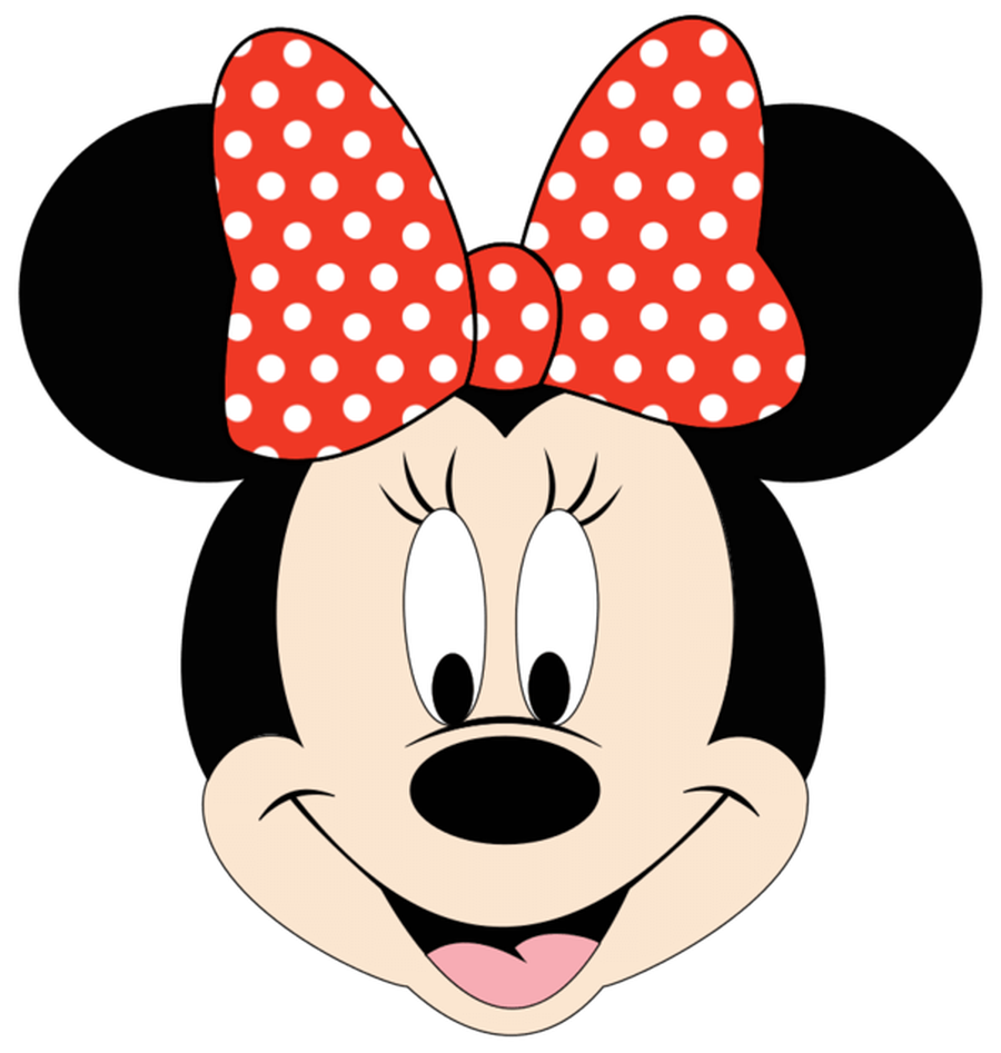 900x947 Minnie Mouse Head Clipart Art Collection