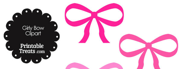 610x229 Anchor Pink Bow Clipart