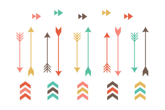 580x386 Feather Clipart Arrow Clip Art Pencil And In Color Bow Tribal