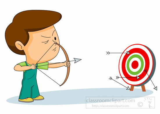550x394 Aiming Clipart