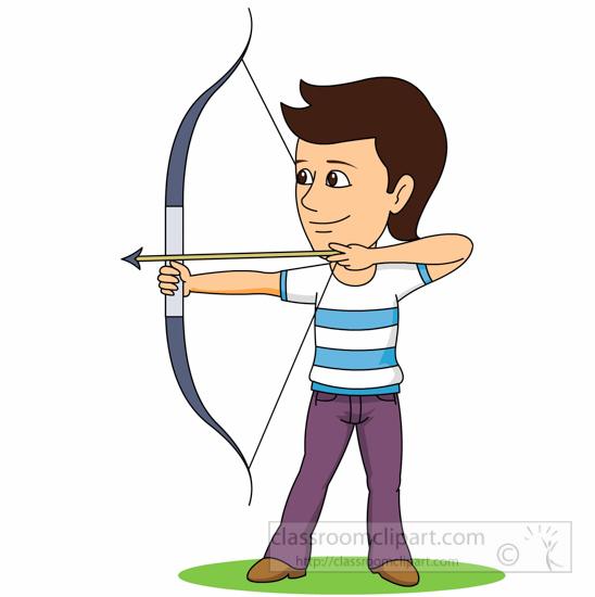 548x550 Archery Clip Art