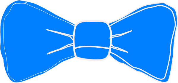 600x280 Neoteric Design Bowtie Clipart Blue Bow Tie Clip Art At Clker Com