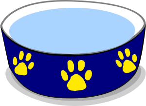 300x217 Dog Bowl Clipart Dog Water Bowl Clip Art