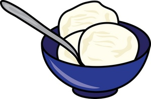 300x197 Ice Cream Clipart Image Clip Art Illustration Of A Bowl Of Image