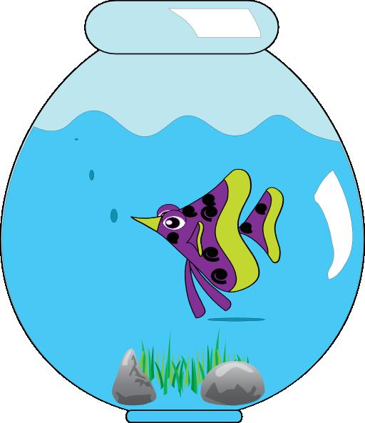 512x593 In Clip Art Fish Bowl Clip Art Clipart Clipartbarn Ideas