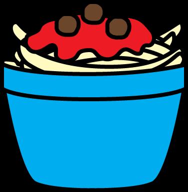 376x383 Pasta Clip Art