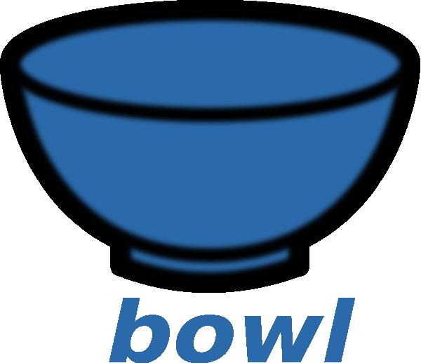 600x517 Bowl Clip Art