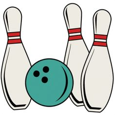 236x236 Bowling Pin And Ball Clipart