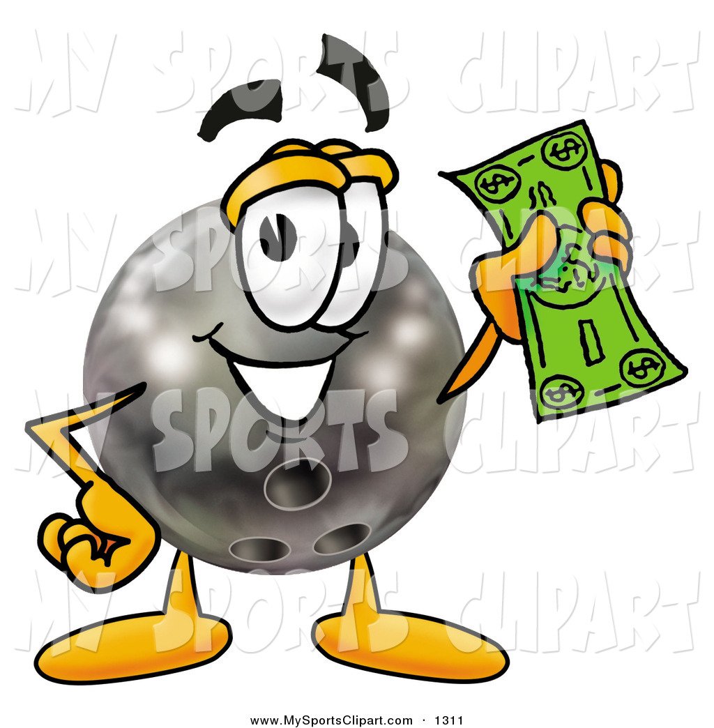 1024x1044 Sports Clip Art Of A Happy Black Bowling Ball Mascot Cartoon