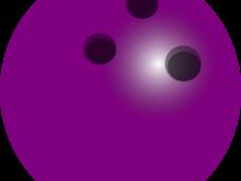 220x165 Clipart Bowling Ball Purple Bowling Ball Clip Art