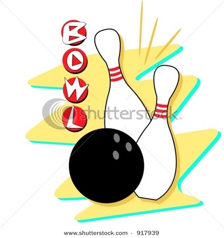 442x470 103 Best Clip Art Images On Bowling Vector Free