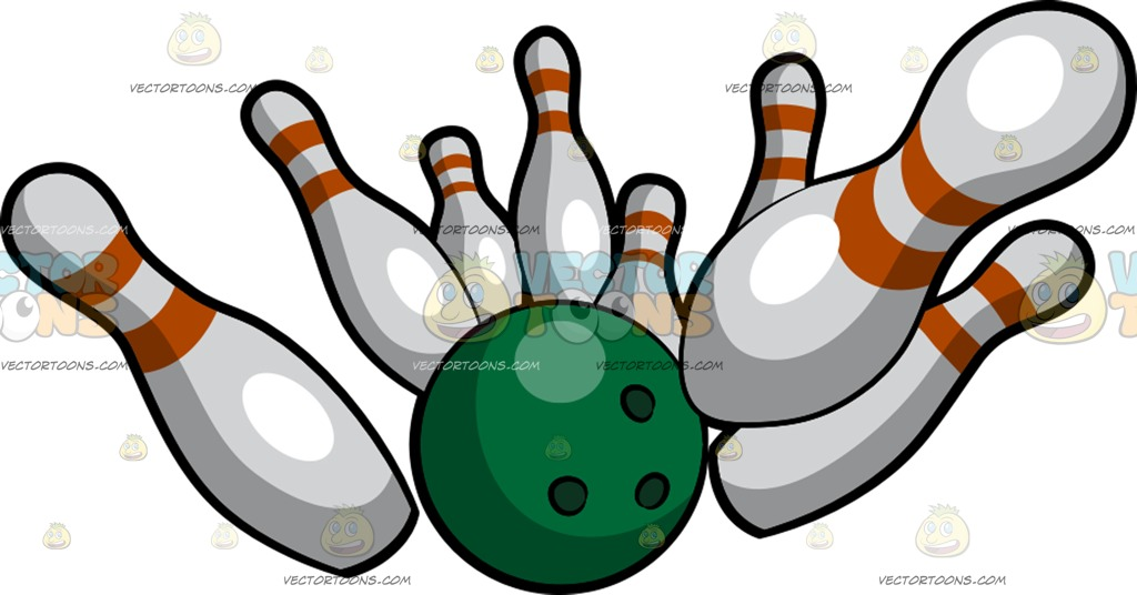 1024x536 Bowling Ball Clipart Vector Toons