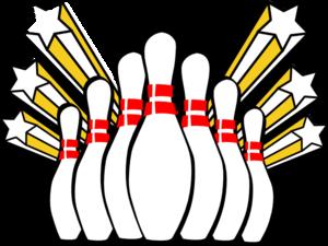 300x225 Bowling Pins Clip Art