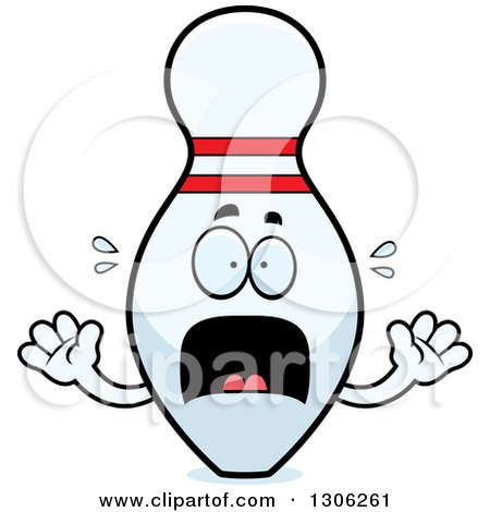 450x470 Scary Clipart Bowling Pin