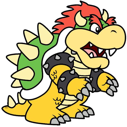 533x536 Mario Clipart Bowser