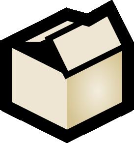 273x291 Box Clip Art Free Vector 4vector